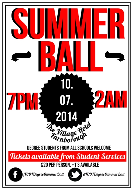 Summerballposterdesign